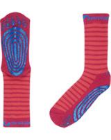 Finkid ABS-Stopper Socken TAPSUT cranberry/raspberry 1651001-505222