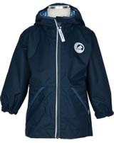 Finkid Essentials Outdoor Jacke Zip-In PUUSKIAINEN navy/denim 1111001-100113