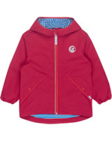 Finkid Essentials Outdoor Jacket Zip-In PUUSKIAINEN red/grenadine 1111001-200244