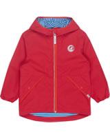 Finkid Essentials Outdoor Jacket Zip-In PUUSKIAINEN red/grenadine 3023082-200244