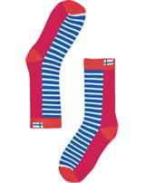 Finkid Essentials Socks SUKAT red/grenadine 1651002-200244