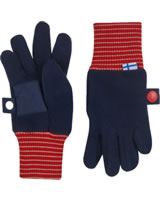 Finkid Fleece Finger-Handschuhe SORMIKAS navy/red 1632003-100200