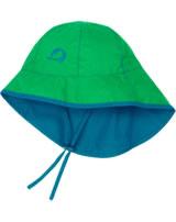 Finkid Summer Hat Sou' Wester leaf/celestial 1622001-312161