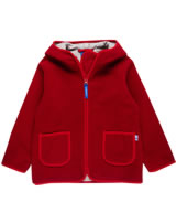 Finkid Zwergen Fleecejacke Zip In TONTTU pepper/red 3023049-230200