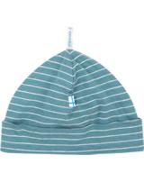 Finkid Striped Jerseybeanie Hat HITTI UUSI blue mirage 1613001-148000