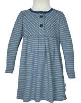Finkid Jersey Shirt-Kleid Langarm PIKKU PAITA blue mirage/maj. 1423001-148160