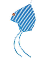Finkid Jersey Pixie Hat POPILI blue/offwhite 6031134-103406