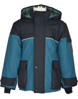 Finkid Winterparka w. quilted lining PIKKU TUPPI graphit/seaport 1142004-412102