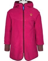 Finkid Girl´s Zip-In Inner Jacket Fleece SIMPUKKA persian red/cabernet 1122008-247249