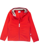 Finkid Essential Zip in Fleecejacke PAUKKU grenadine/red 3023056-244200