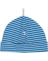 Finkid Ringel Jerseymütze HITTILI blue/offwhite 6031133-103406