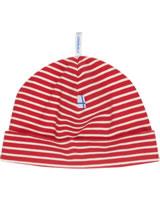 Finkid Hat Jersey Beanie HITTILI red/offwhite 6031133-200406