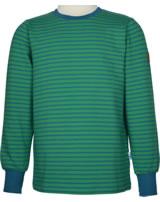 Finkid Ringel T-Shirt Langarm RIVI leaf/seaport 3040033-312102