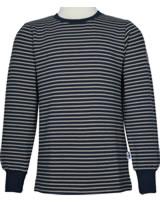 Finkid Ringel T-Shirt Langarm RIVI navy/pebble 3040033-100443