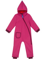 Finkid Softshell-Overall PIKKU SHELL raspberry/cabernet 1232001-222249