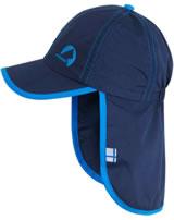 Finkid Sommer-Mütze m. Nackenschutz LAKKI navy/blue 1622014-100103