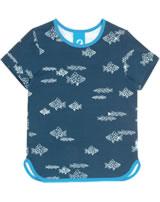 Finkid T-Shirt Kurzarm Print ILMA majolica/blue 1542002-160103