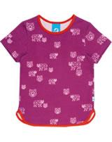 Finkid Printed Shortsleeve Shirt ILMA raspberry/grenadine 1542002-222244