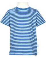 Finkid T-Shirt Kurzarm SUPI Streifen blue/offwhite 3041023-103406