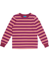 Finkid Basic Blockstripe Longsleeve Shirt RULLA raspberry/georgia p. 1532001-222252
