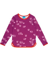 Finkid T-Shirt Langarm Print VALO raspberry/grenadine1532002-222244