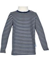 Finkid T-Shirt longleeve SAMPO navy/offwhite 3040034-100406