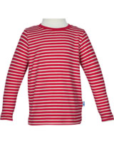 Finkid T-Shirt longleeve SAMPO red/offwhite 3040034-200406