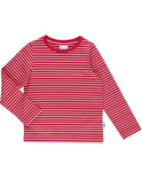Finkid T-shirt à manches longues SAMPO red/offwhite 3040034-200406