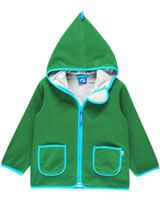 Finkid Zwergen Fleecejacke Zip In TONTTU leaf/pool 3023042-312138