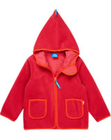 Finkid Zwergen Fleecejacke Zip In TONTTU pepper/fire 3023032-230203