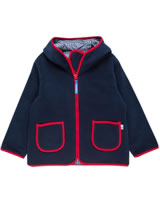 Finkid Zwergen Fleecejacke Zip in TONTTU navy/red 3023069-100200