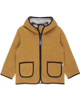 Finkid Zwergen Fleecejacke Zip in TONTTU harvest gold/navy 3023069-603100