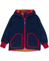Finkid Zwergen Softshelljacke Zip In TOVE SHELL navy/red 3023072-100200