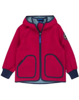 Finkid Zwergen Softshelljacke Zip In TOVE SHELL red/denim 3023072-200113