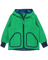 Finkid Zwergen Softshelljacke Zip In TOVE SHELL leaf/navy 3023072-312100