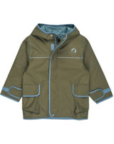 Finkid Zwergen Outdoorjacke Zip In TUULIS capers/smoke blue 3023066-437152