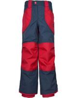 Finkid reinforced Outdoor Pants TOBI navy/red 1322001-100200