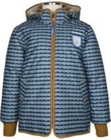 Finkid Winterjacke VANU SOFT pebbles blue/cinnamon 1143001-164416