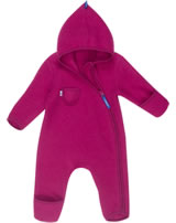 Finkid Wollfleece Overall PUKU WOOL persian red 3070048-247000