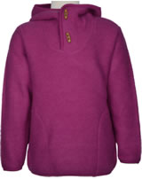 Finkid Wollfleece-Pullover JUSSI WOOL persian red 3036015-247000