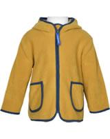 Finkid Zip-In Inner Jacket Fleece TONTTU harvest gold/denim 1122004-603113
