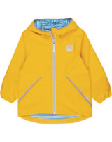 Finkid Zip-In Jacke PUUSKIAINEN yellow/storm 3023073-607542