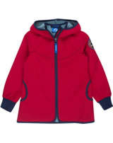 Finkid Zwergen Windstop Jacke Zip in SIMPUKKA SHELL red/denim 3223027-200113