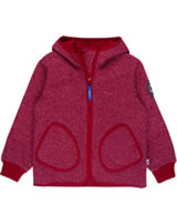 Finkid Zwergen Windstop Jacke Zip in TONTTU WIND red melange 3023063-501000