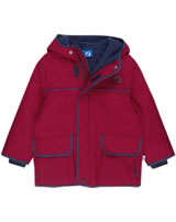 Finkid Zwergen Winter-Jacke Winterparka TALVI red/denim 3011022-200113