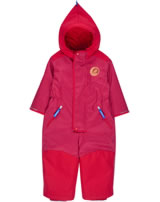 Finkid Zwergen Winter-Overall LUMINEN ICE persian red 3070045-247000