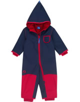 Finkid Zwergen Winter-Overall PIKKU WINTER navy/red 3070049-100200