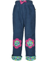 Frugi Gefütterte Kord-Hose Little FLOWER space blue TRA901SFE