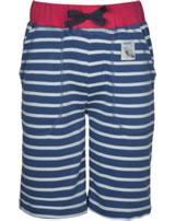 Frugi Hose Stripy Shorts Streifen Marine Blue Breton SHS956MBC
