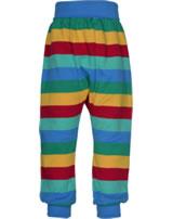 Frugi Jersey-Bund-Hose PARSNIP rainbow stripe PUA901RBS